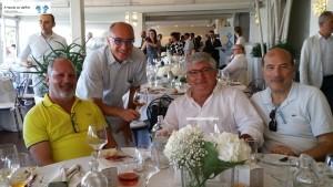 Enzo Scivetti, Francesco Pignatelli, Alberto Longo e Antonio Gelormini
