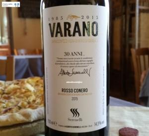 Varano - Rosso Conero Doc 2015 - Serenelli