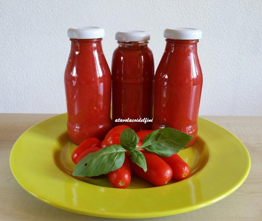 Salsa di pomodori San Marzano