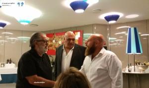 Antonio Tomacelli, Vittorio Cavaliere e Pasquale Cinone