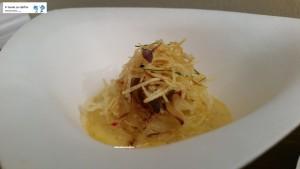 Spaghetti di patate, burro e alici