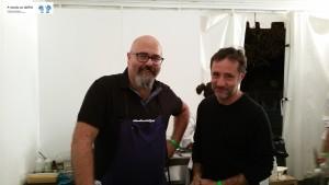 Chef Luigi Nastri e Pino Cau