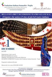 Bellavista Brut Teatro alla Scala - Masseria Traetta (Ostuni)