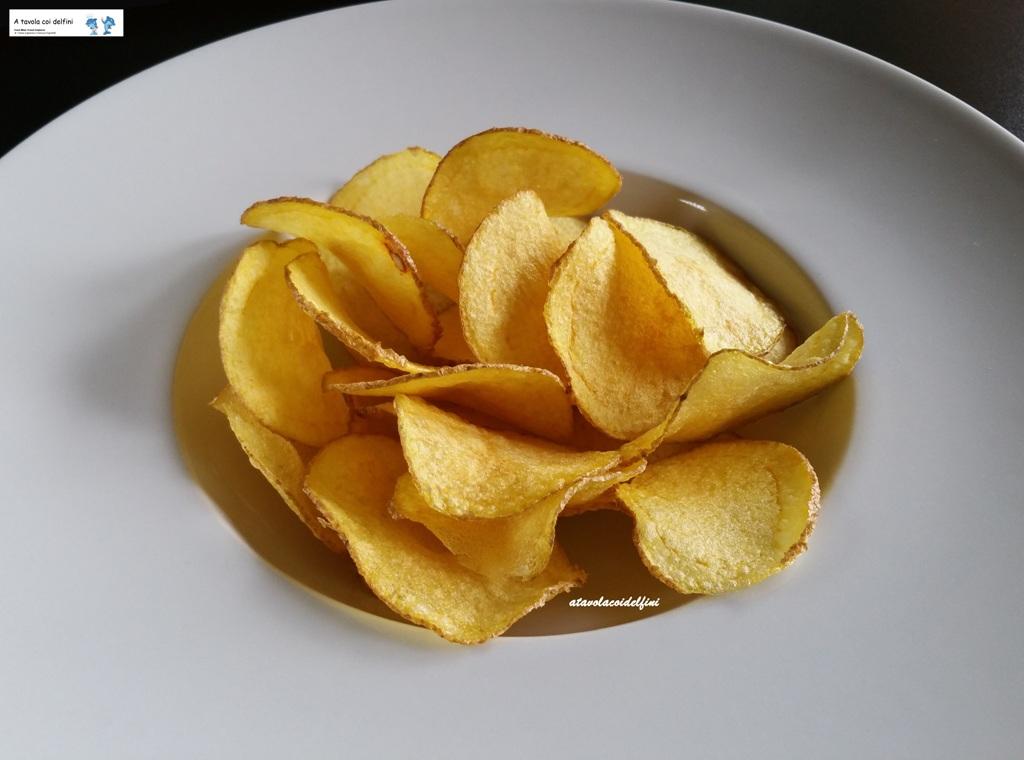 Patate sfogliate della Valle del Fucino fritte in olio evo