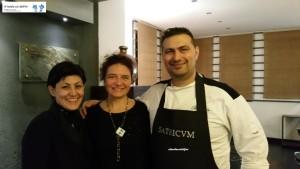 Sonia Tomaselli e Chef Max Cotilli