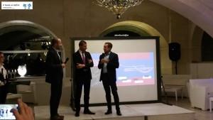 Simone Vizzari, Giuseppe Cupertino e Renato Rubino