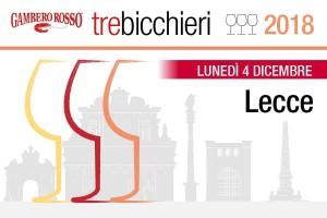 """""""tre bicchieri"""" Gambero Rosso - Lecce"""