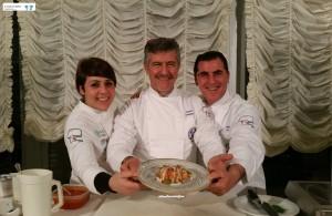 Enza Crucinio, Mario Demuro e Andrea Uccelli