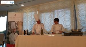 Chef Andrea Uccelli e Chef Enza Crucinio