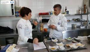 Chef Enza Crucinio e Chef Mario Demuro