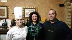 Chef Patrizia Viola e Nicola Stefanile