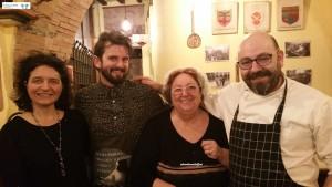 Mattia, Mamma Raffaeli e lo Chef Alessandro