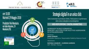 Strategie digitali in un clik - Produttori Vini Manduria (Ta)