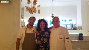 Chef Alfredo Greco e Giovanni