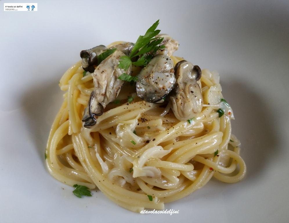 Spaghetti alle ostriche