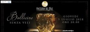 Bollicine senza veli - Masseria del Sale - Manduria