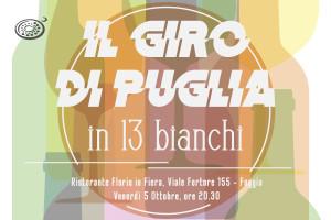 Giro di Puglia in 13 bianchi - Foggia