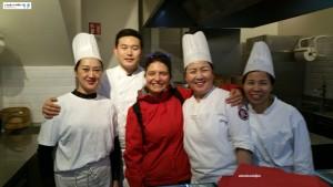 Cuoco Awet con Brigata