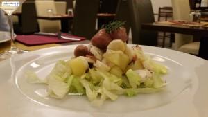 Polpo in insalata con patate e lampascioni