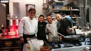 Chefs Rocco Agostino, Mantu e Daniele