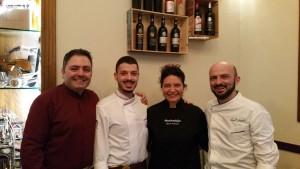 Luca Gorga, Chefs Giuseppe Macrì e Luca Caligiuri