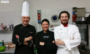 Nando e Chef Salvatore Guerrieri