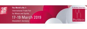 Prowein 2019 - Dusseldorf (Germany)