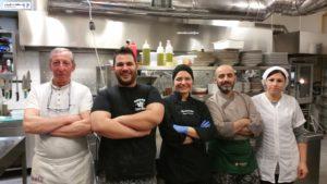 Chef Antonio Spadone, Gaetano Spadone e Brigata