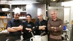 Ferruccio Santoni e Chef Claudio Lica