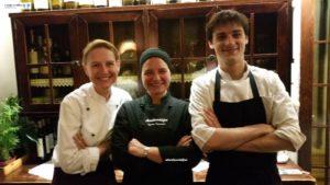 Judy e Chef Riccardo Pighi