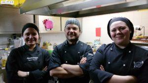 Chef Alessio Caffini e Chiara