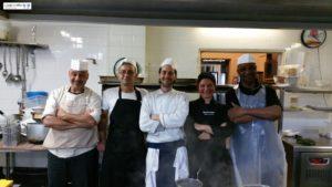Chef Fabio Magi e Brigata