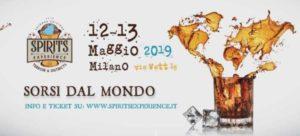 Spirits Experience 2019 - Milano