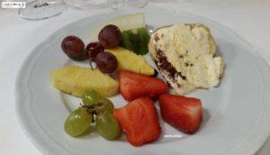 Frutta di stagione e semifreddo Arnaldo