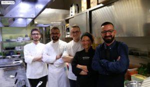 Chef Pietro Ferri e Brigata