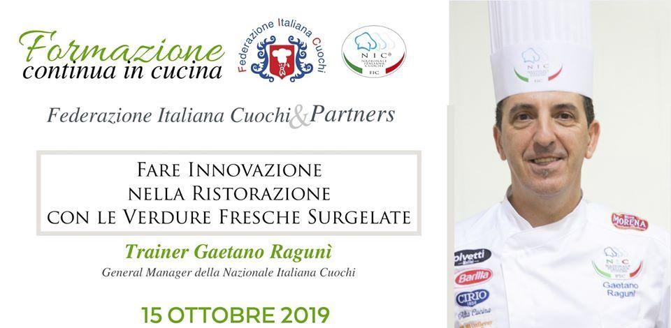 Chef Gaetano Ragunì (NIC) – Verdure fresche surgelate