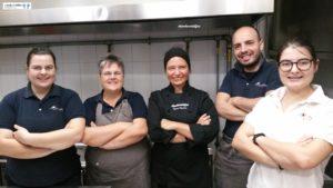 Cuoca Giulia Campanella e Brigata