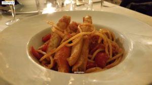 spaghettoni alla granceola