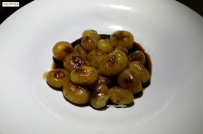 Cipolle borettane in agrodolce all'aceto balsamico
