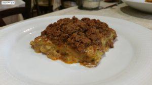 Lasagnetta al forno