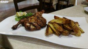 Galletto al forno e patate