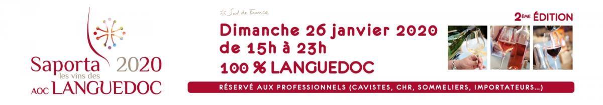 Saporta 2020 – I Vini di AOC Languedoc