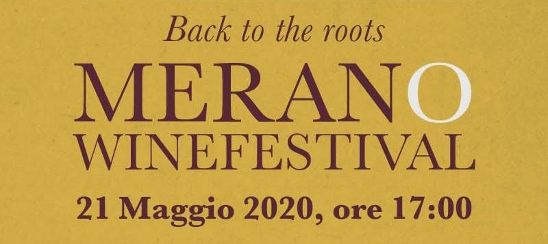 Merano Wine Festival 2020