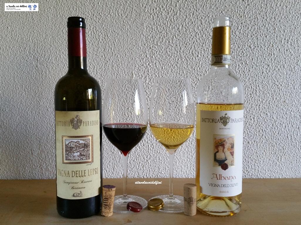 """""""Vigna delle Lepri"""" 2012 e """"Vigna dell'Olivo"""" 2019 – Fattoria Paradiso – Bertinoro (FC)"""