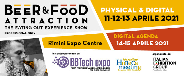 Beer & Food Attraction 2021 – Rimini
