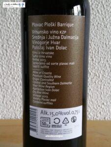 Vina Caric - Plovac Ploski